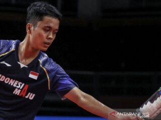 Anthony Sinisuka Ginting gagal ke final Thailand Open