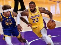 NBA: Golden State Warriors menang tipis atas LA Lakers