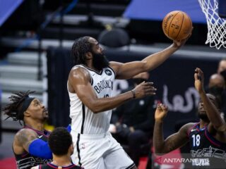 James Harden dan Anthony Davis masuk cadangan All-Star Game